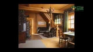 видео Интерьер деревянного дома