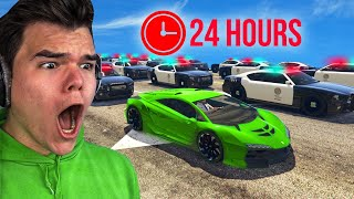 Download Playing GTA 5 For 24 Hours Without BREAKING LAWS! Mp3 and Videos