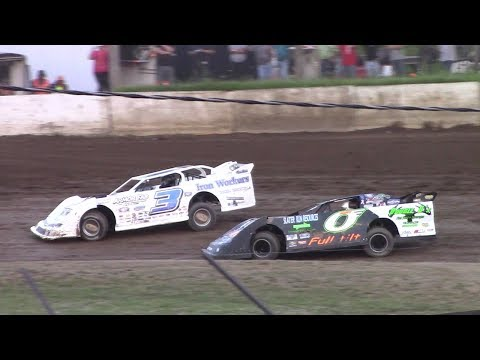 RUSH Crate Late Model Heat Two | Eriez Speedway | 7-16-17