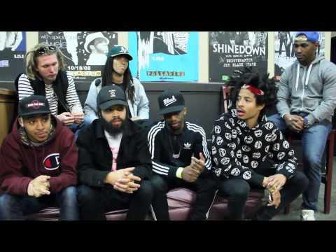 DE-J Interviews Interscope Records Artists Two-9