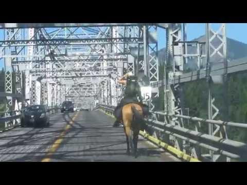 PCT Bridge of the Gods--Oregon to Washington