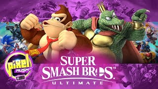 DUELOS CLÁSICOS, DONKEY KONG VS KING K ROOL SMASH BROS ULTIMATE