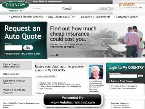 Country Financial Car Insurance Review - Compare Rates