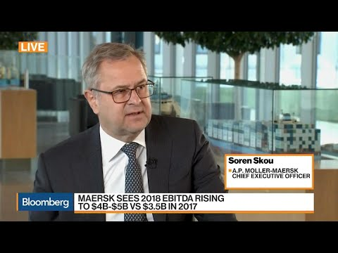 Maersk CEO Expects to Deliver Better Results in 2018
