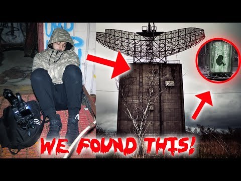 STRANGER THINGS - I WENT TO THE STRANGER THINGS SECRET BUILDING & SLEPT THE NIGHT - WE FOUND THIS!