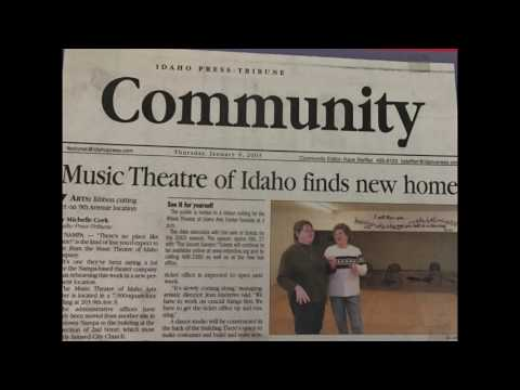 Music Theatre of Idaho Is looking for a new home