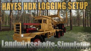 """[""""Farming"""", """"Simulator"""", """"LS19"""", """"Modvorstellung"""", """"Landwirtschafts-Simulator"""", """"HAYES HDX"""", """"HAYES HDX LOGGING SETUP"""", """"LS19 Modvorstellung Landwirtschafts-Simulator : HAYES HDX"""", """"LS19 Modvorstellung Landwirtschafts-Simulator : HAYES HDX LOGGING SETUP"""","""