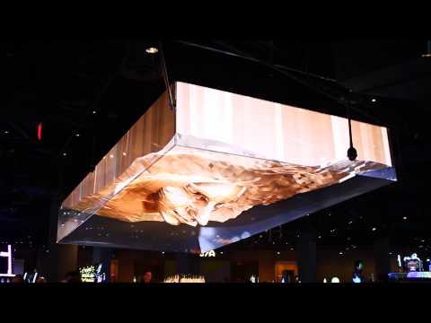 Center Bar 3-D Video at SLS Las Vegas