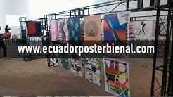 Ecuador Poster Bienal del 6 al 8 de noviembre del 2018 en la CCE