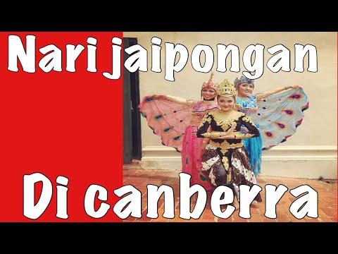 TARI JAIPONGAN MAUNG LUGAY | CANBERRA 2017 #VLOG6