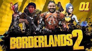 Borderlands 2 #1 | Tem que matar o Blanka