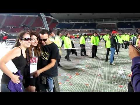 U2 Santiago Post Show - Estadio Nacional, Chile - March 25, 2011