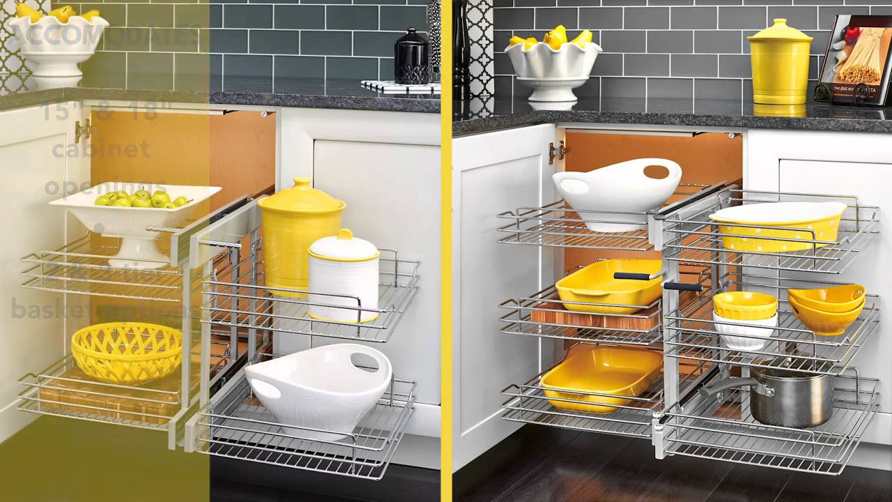 Rev A Shelf 5psp Series Blind Corner Product Overview By Kitchensource