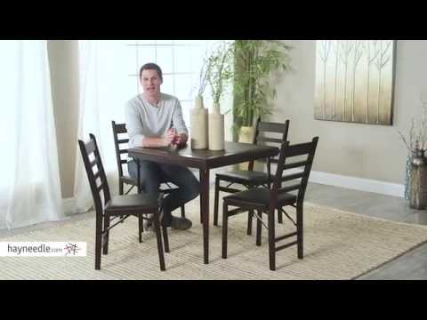 Cosco Bridgeport Folding Chair - 2 Pack - Product Review Video