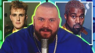 JAKE PAUL AND KANYE WEST START FIGHTS