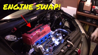 RSX ENGINE REMOVAL: PART 1