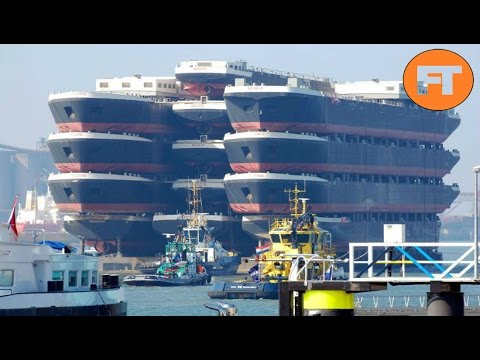 Top 10 Barcos Monstruosamente Grandes - FULL TOPS