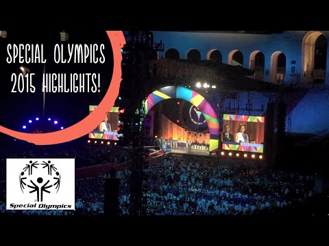 Special Olympics World Games 2015 Highlights