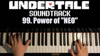"Undertale OST - 99. Power of ""NEO"" (Piano Cover by Amosdoll)"