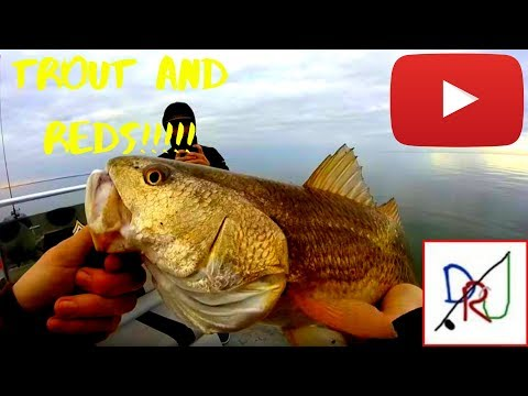 Fishing West Galveston Bay For Trout And Redfish!
