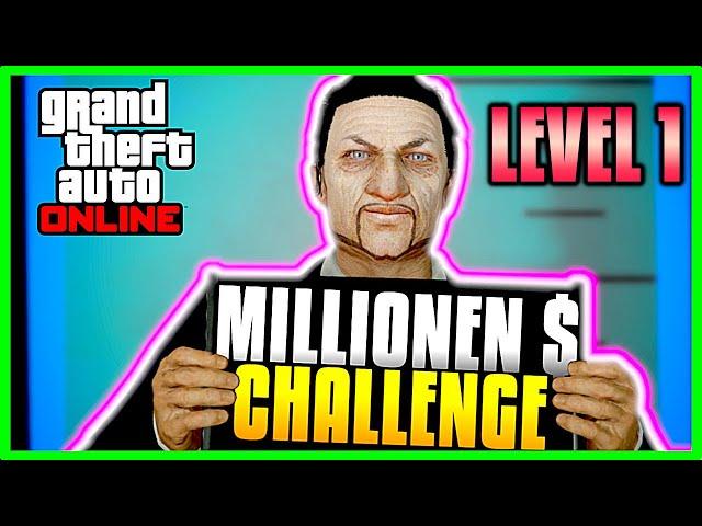 Wie man Millionär wird in GTA! Neuanfang mit Level 1 GTA 5 Online Deutsch