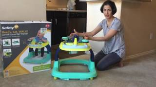 SAFETY FIRST BABY WALKER REVIEW