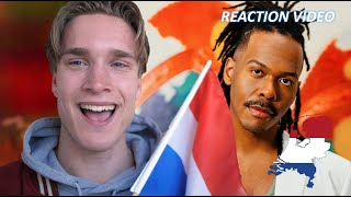 Jeangu Macrooy - Birth Of A New Age reaction video The Netherlands 2021