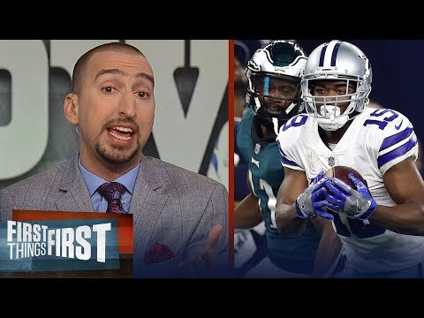 Nick Wright reacts to the Cowboys' win against the Eagles | NFL | FIRST THINGS FIRST
