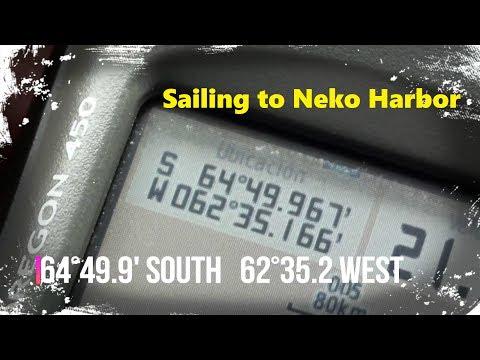 Sailing to Neko Harbor