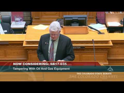 Senator Jones Says No Special Protection for Oil and Gas Corporations