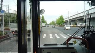 東京ベイシティ交通 舞浜駅→浦安駅入口 前面展望