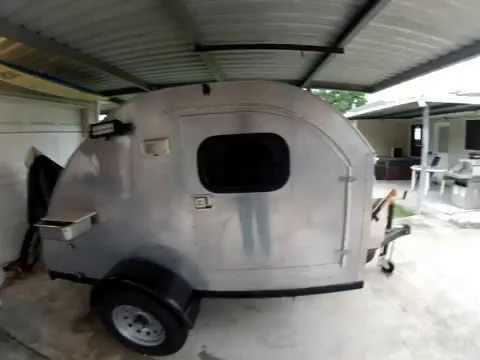Teardrop Camper Door Hinge Youtube