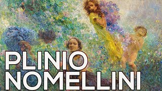 Plinio Nomellini: A collection of 64 works (HD)