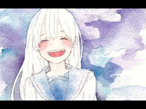 透明水彩女の子描いてみた Youtube