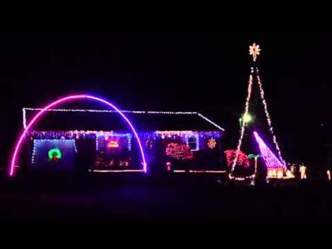 Christmas Lights, Burlington, NC - YouTube