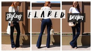How To Style Flared Jeans    Summer Edition 2016