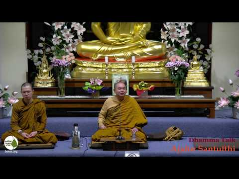How To Live A Happy Life | Ajahn Santutthi | 28 June 2019
