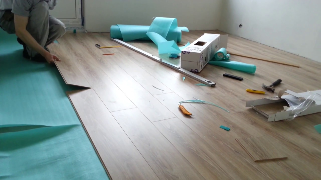 laminate floor from ikea youtube. Black Bedroom Furniture Sets. Home Design Ideas