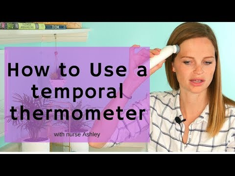 How Use A Temporal Thermometer To Check A Fever On A Child, Baby, Or Newborn - Easy!