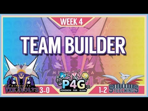 Minnesota Vikavolts Team Building P4G S2 Week 4: VS Detroit Steel Wings   Pokemon Sun and Moon