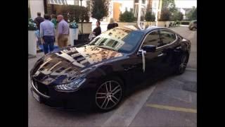 Maserati Ghibli: Soluzione Perfetta per il Vostro Matrimonio!!!