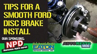 Mustang Drum to Disc Brakes Tips and Tricks Episode 331 Autorestomod