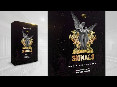 Signals - Trap Hip Hop Construction Kits W/ Drum Kit & Loops | Sonics Empire