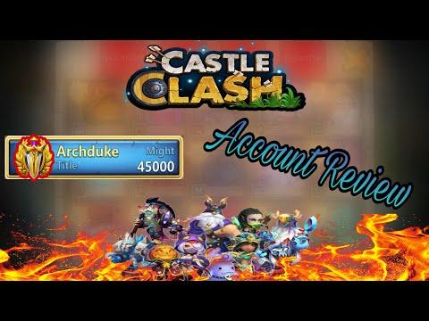 Castle Clash My Main Account Review | #FTP