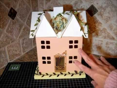 Cheap paper mache houses