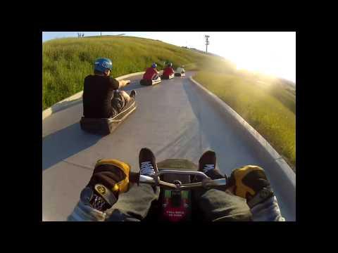 Full Course, Skyline Luge Calgary Alberta