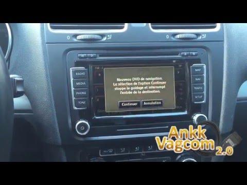 VW RNS-510 Maps 2016 (V13) install - YouTube