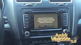 VW RNS-510 Maps 2016 (V13) install