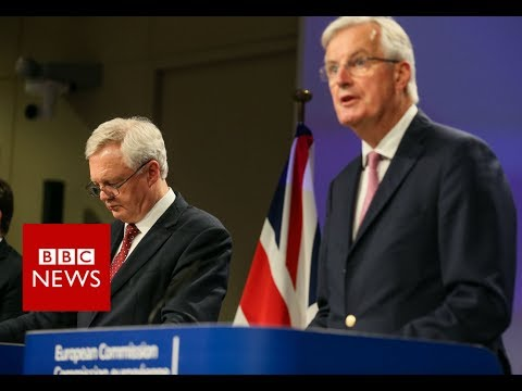 Barnier: UK must clarify position on a financial settlement for brexit - BBC News
