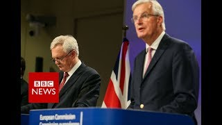 Barnier  UK must clarify position on a financial settlement for brexit   BBC News